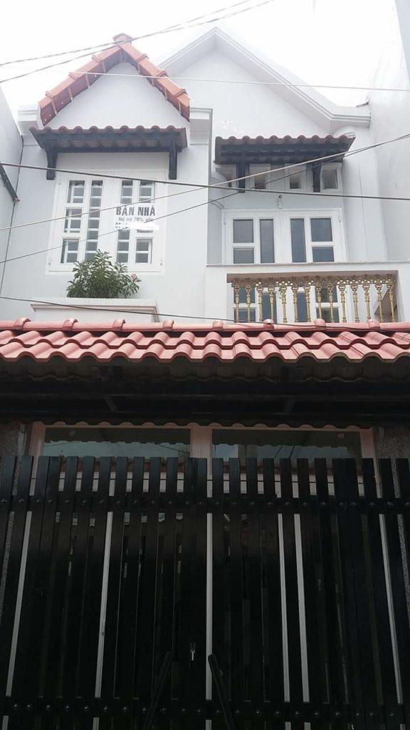 Bán nhà đường số 25 phường Tân Quy q7